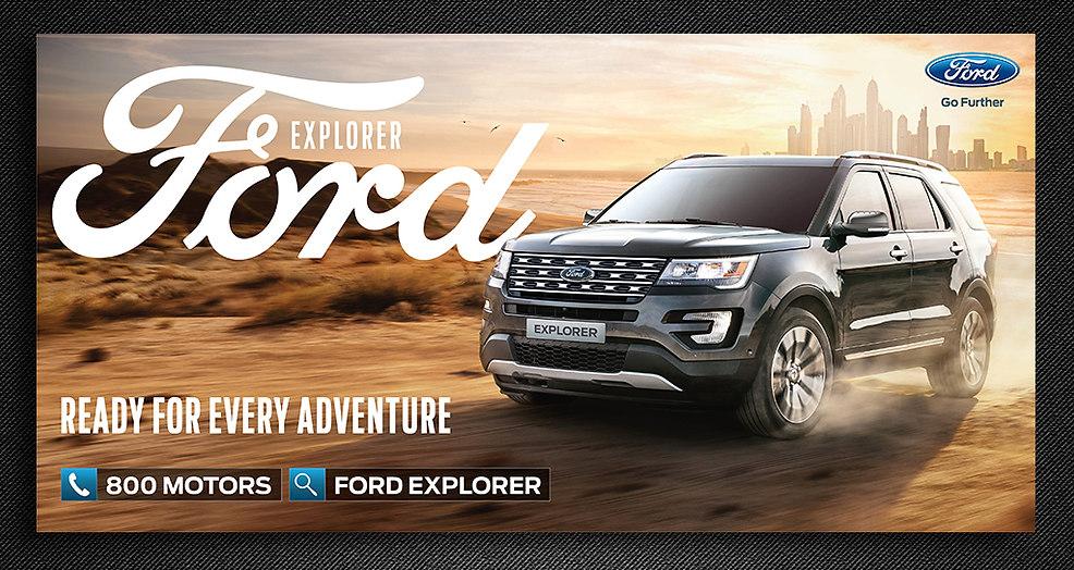 Ford Explorer OOH