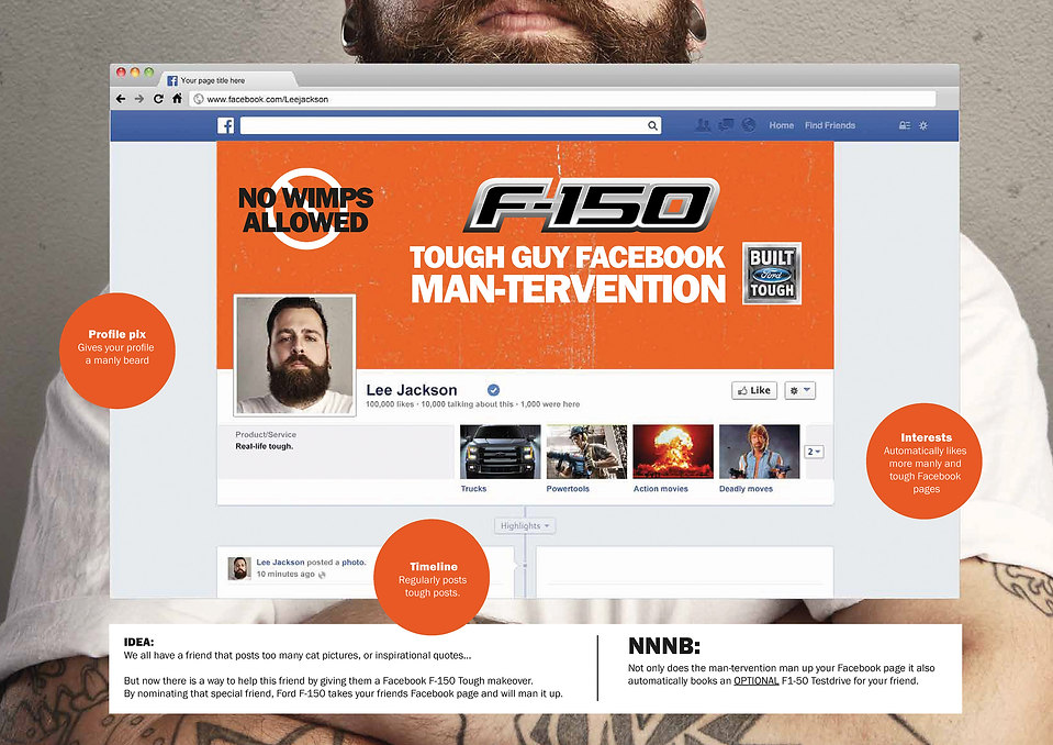 F-150 Mantervention FaceBook