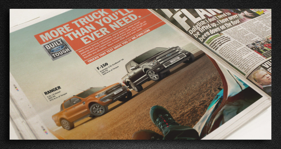 Ford F-150 Newspaper Ads