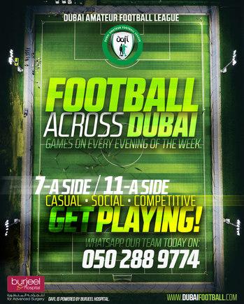 Instagram Posts for Dubai Football