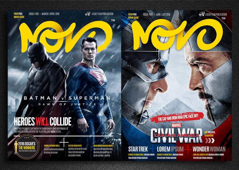 Novo Cinemas Mag Design