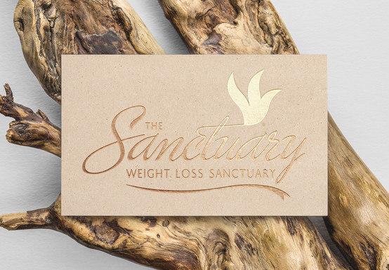 The Sanctuary Logo Design