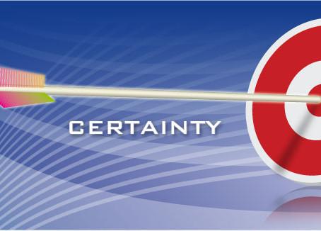 The Christian's Certitude