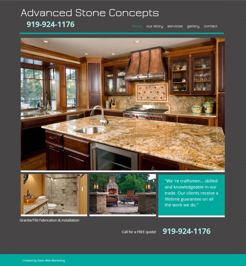 Advanced Stone Website