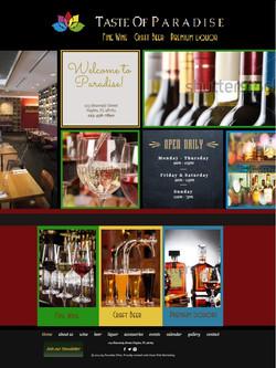 Taste of Paradise Website