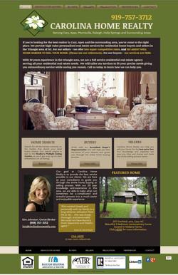 Carolina Home Realty Website