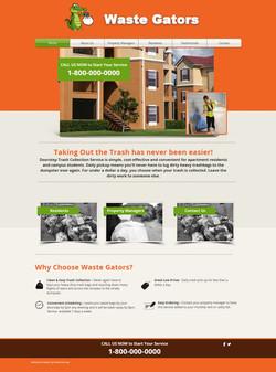 Waste Gators Website