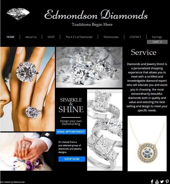 Edmondson Diamonds Website
