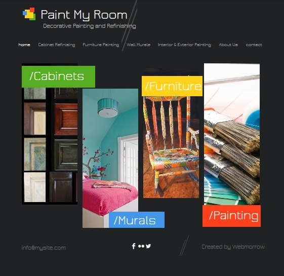Paint My Room Website