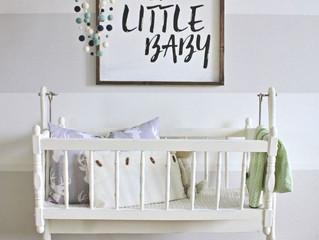 Getting ready for baby? Or baby yourself with a new look at home!