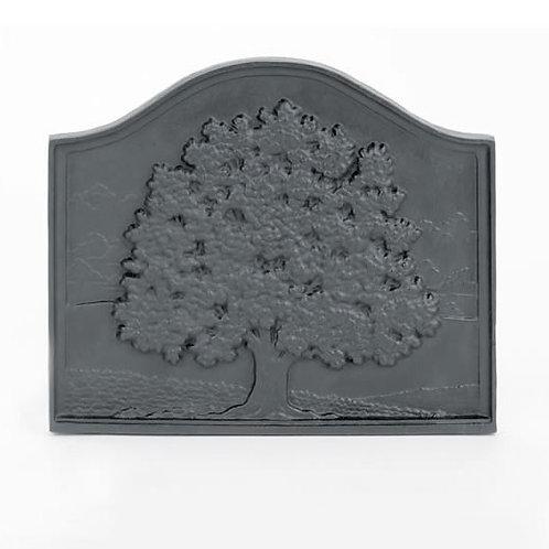 Pennsylvania Cast-iron Fireback - Small Oak