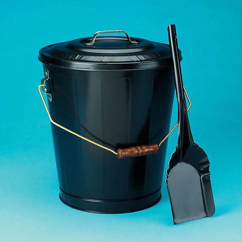 Black Ash Container and Shovel Set