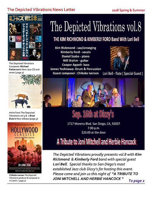 The Depicted Vibrations News Letter  spr