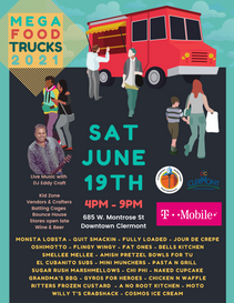 Mega Food Trucks Will Line The Streets Of Downtown Clermont (June 19)
