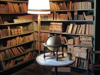 Une bibliothèque préservée du temps