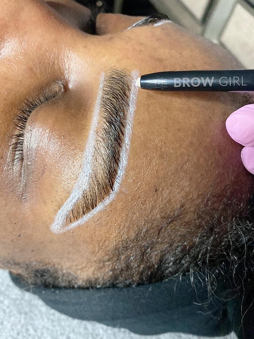 White Brow Mapping Artist Pen