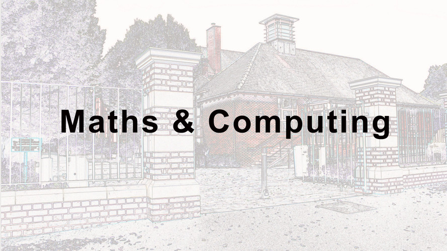 Maths and Computing