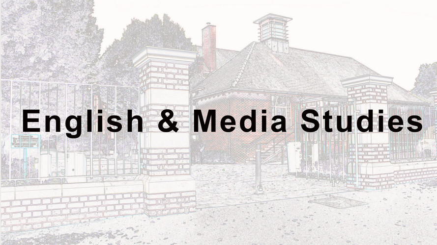 English & Media Studies