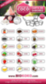 sabores cristales de coco biokoko