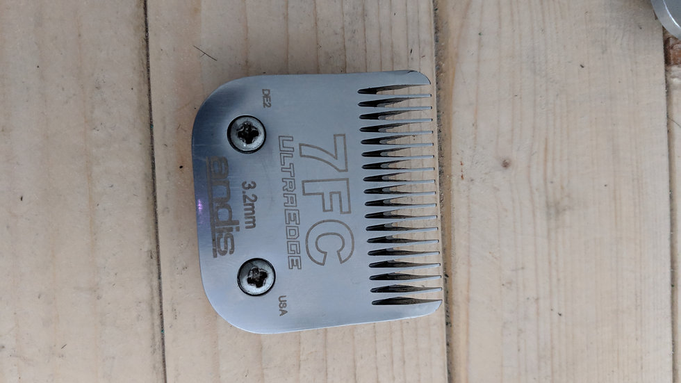 Used Andis Clipper blade 7FC