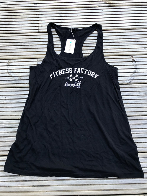 Ladies Training Vest Text