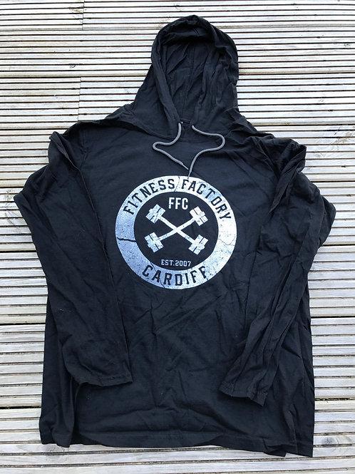 FFC Hoodie Shield Black