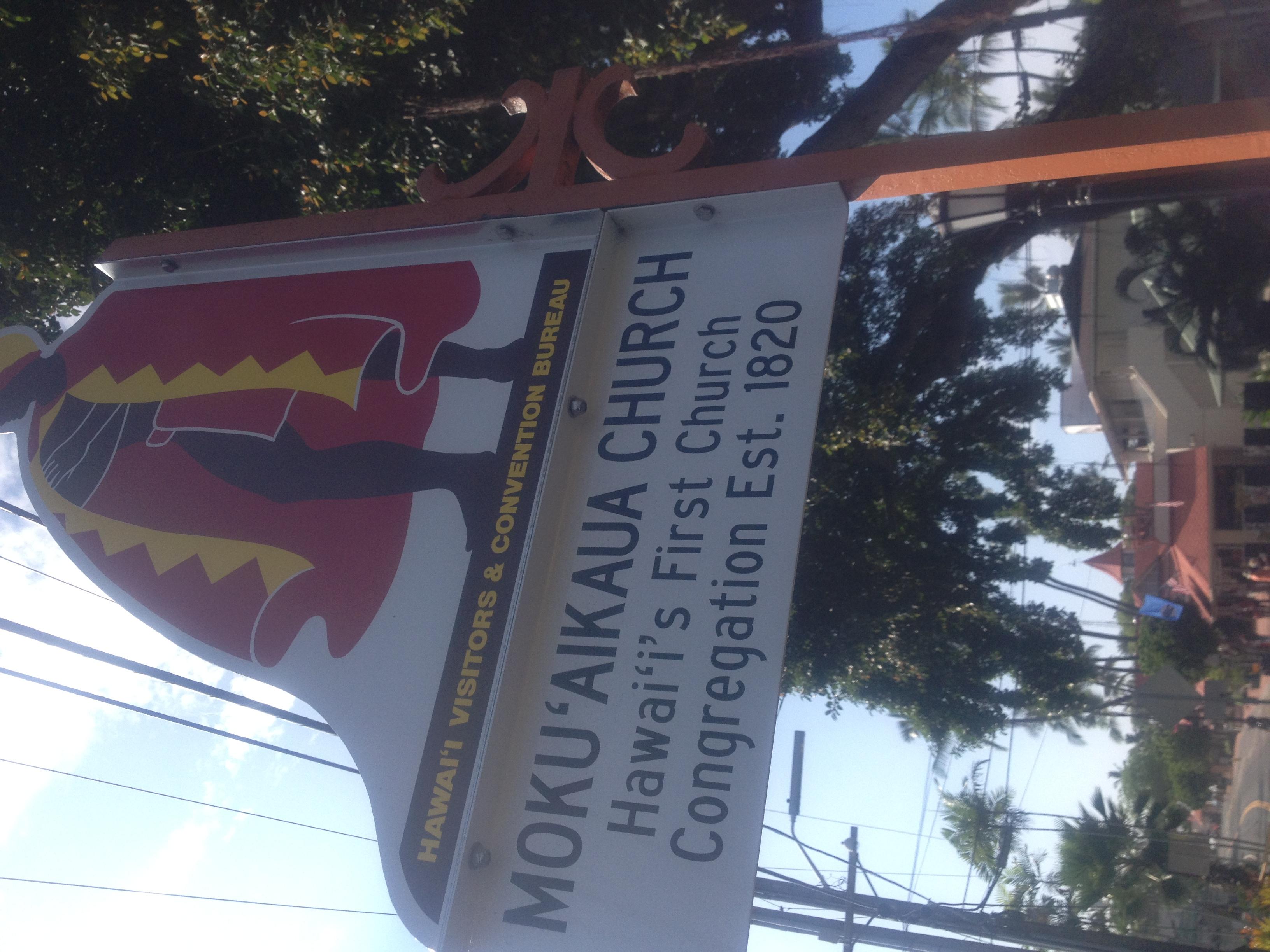 K church in Hawaii