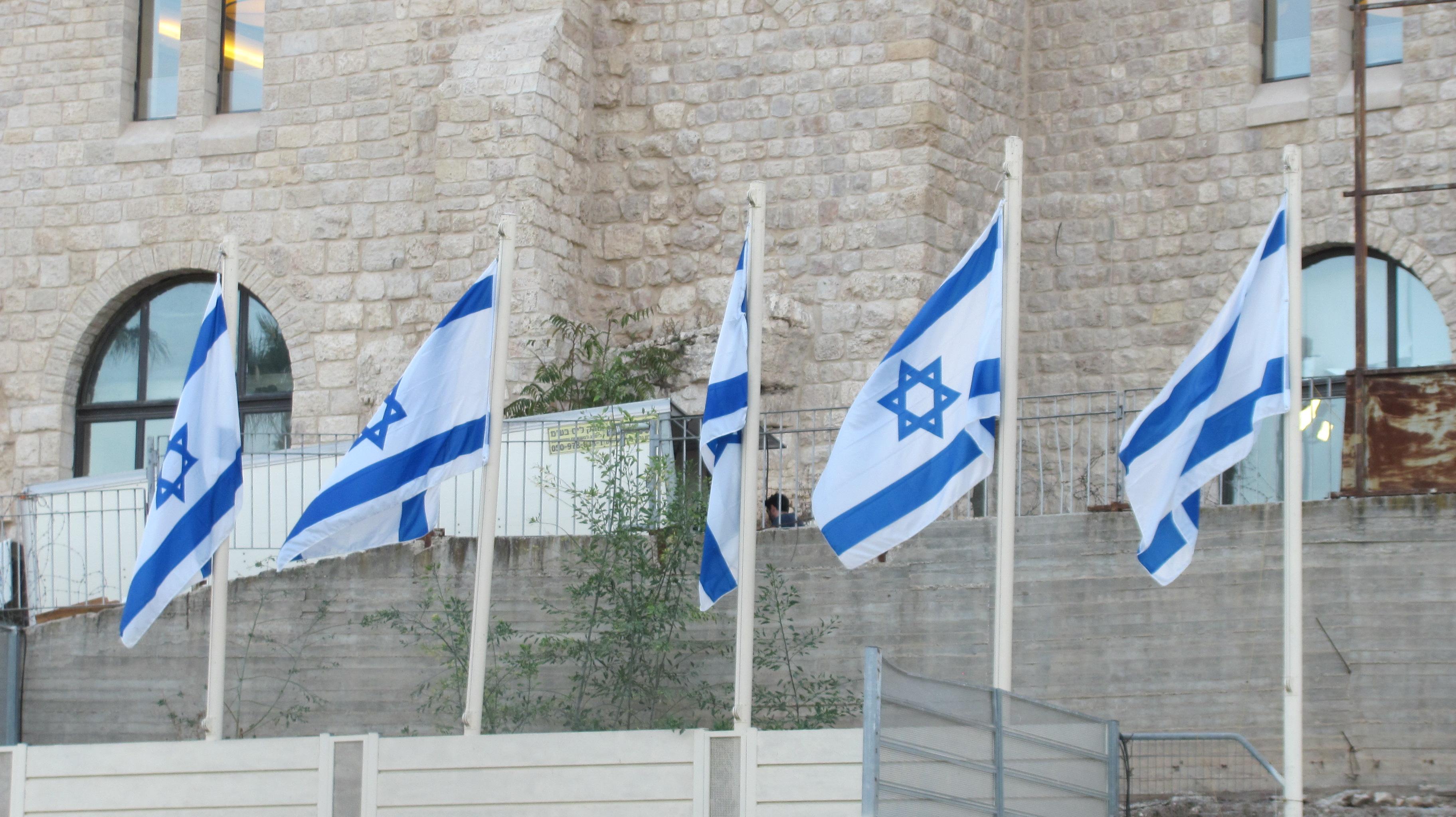 Israel near the western wall