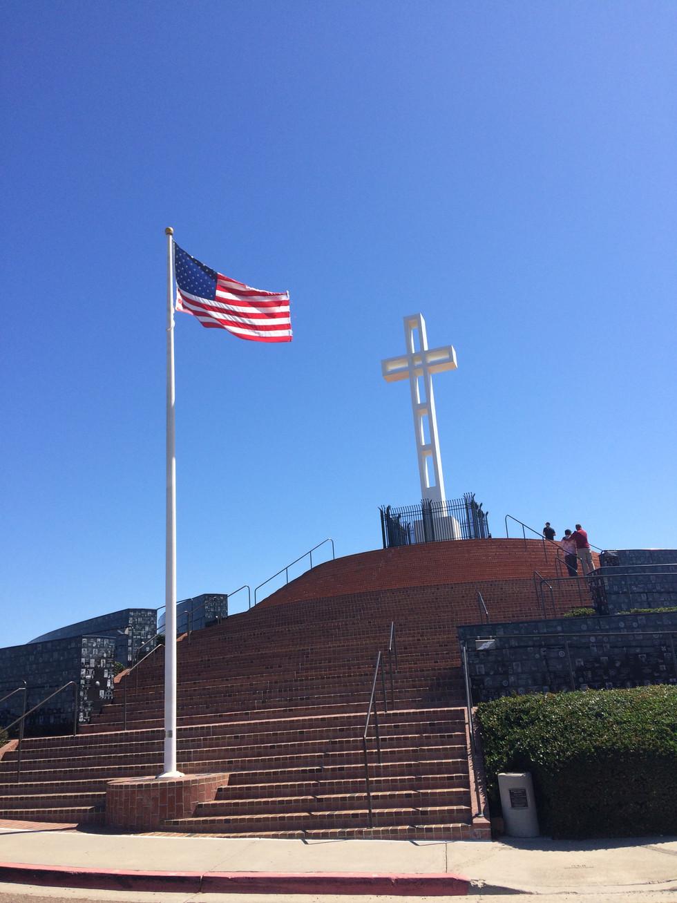 Solodad Veteran's Memorial, La Jolla California