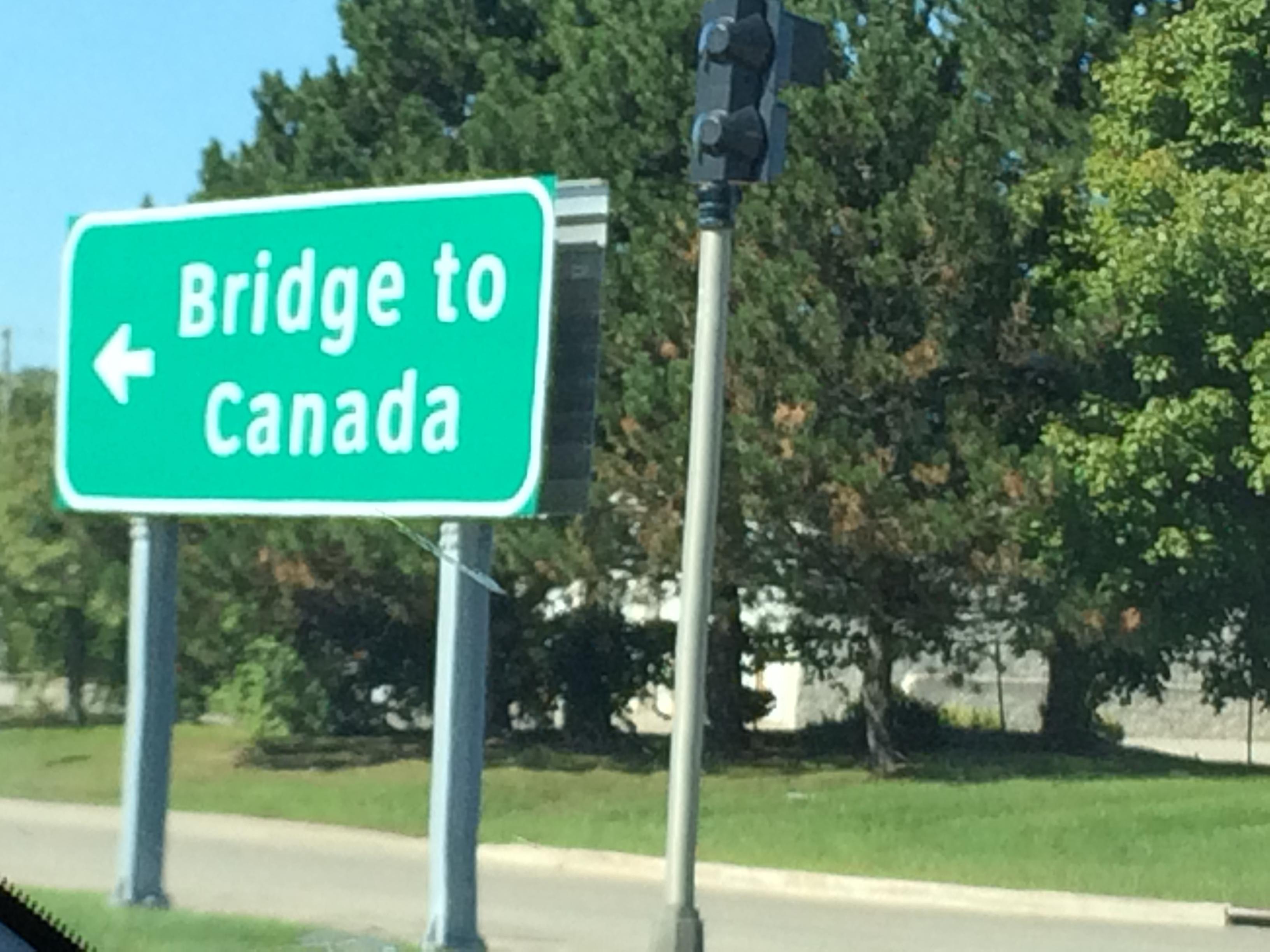 Headed to Canada!