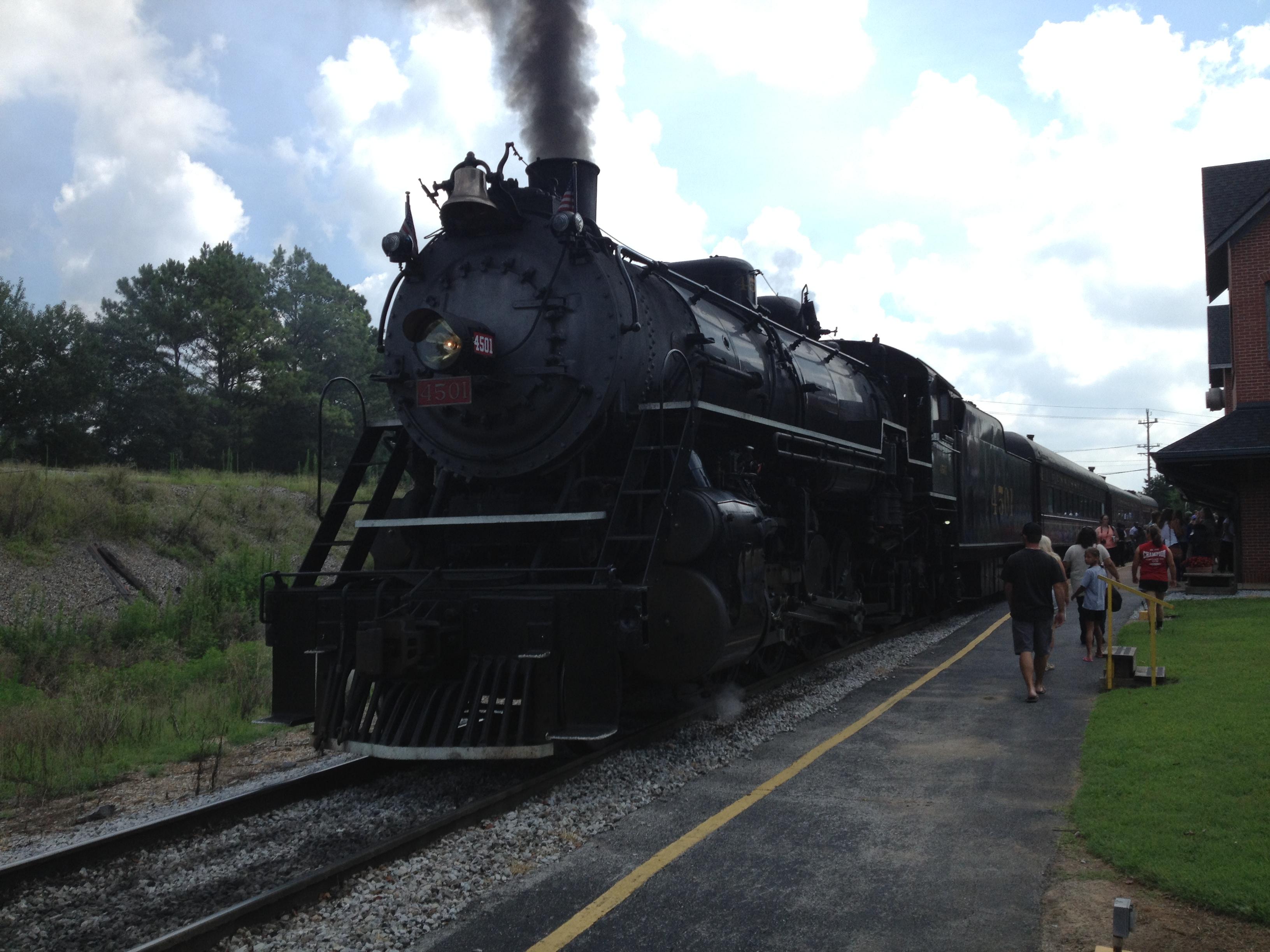 Steam Locomotive in Chattanooga, TN
