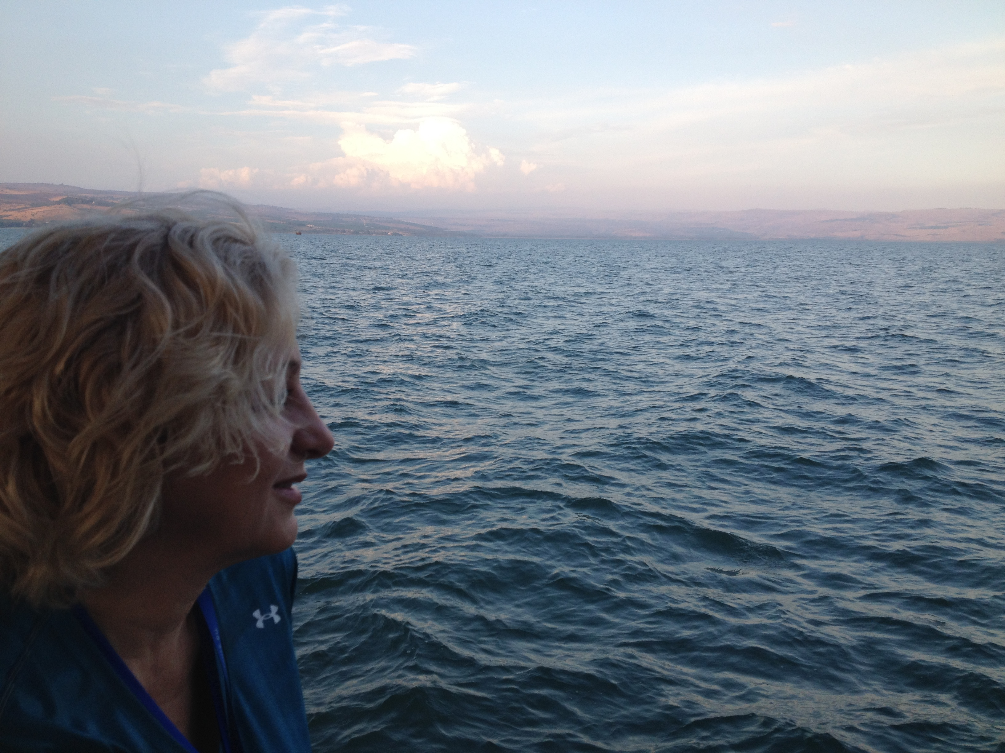Peaches on the Sea of Galilee