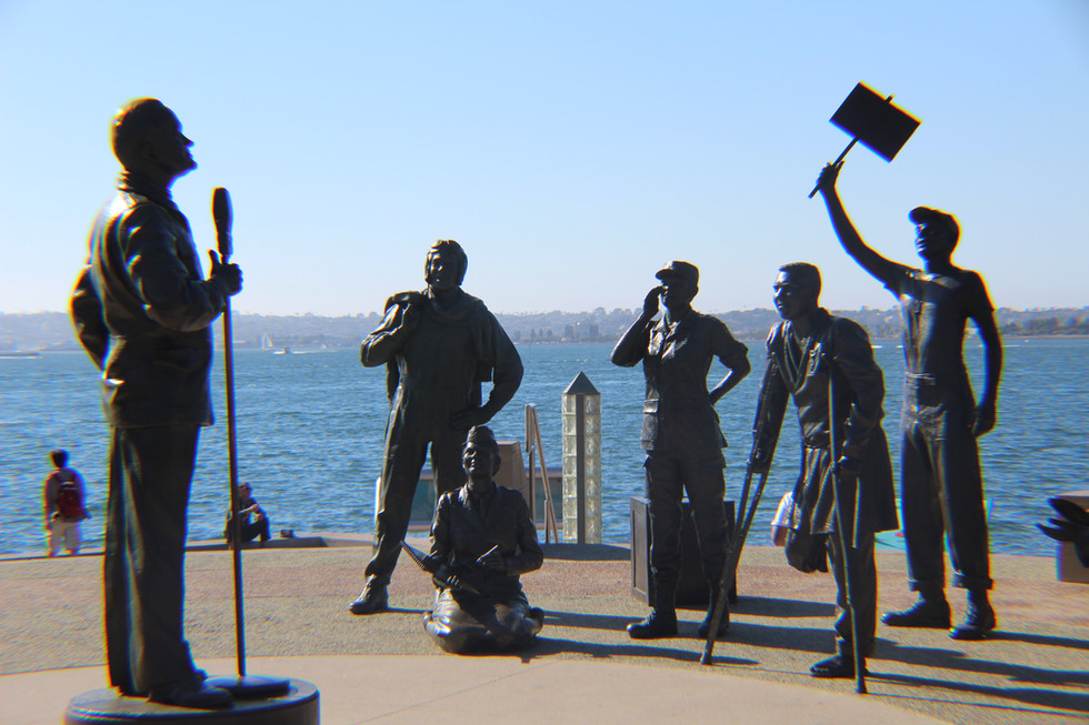Bob Hope Veteran's Memorial, San Diego CA