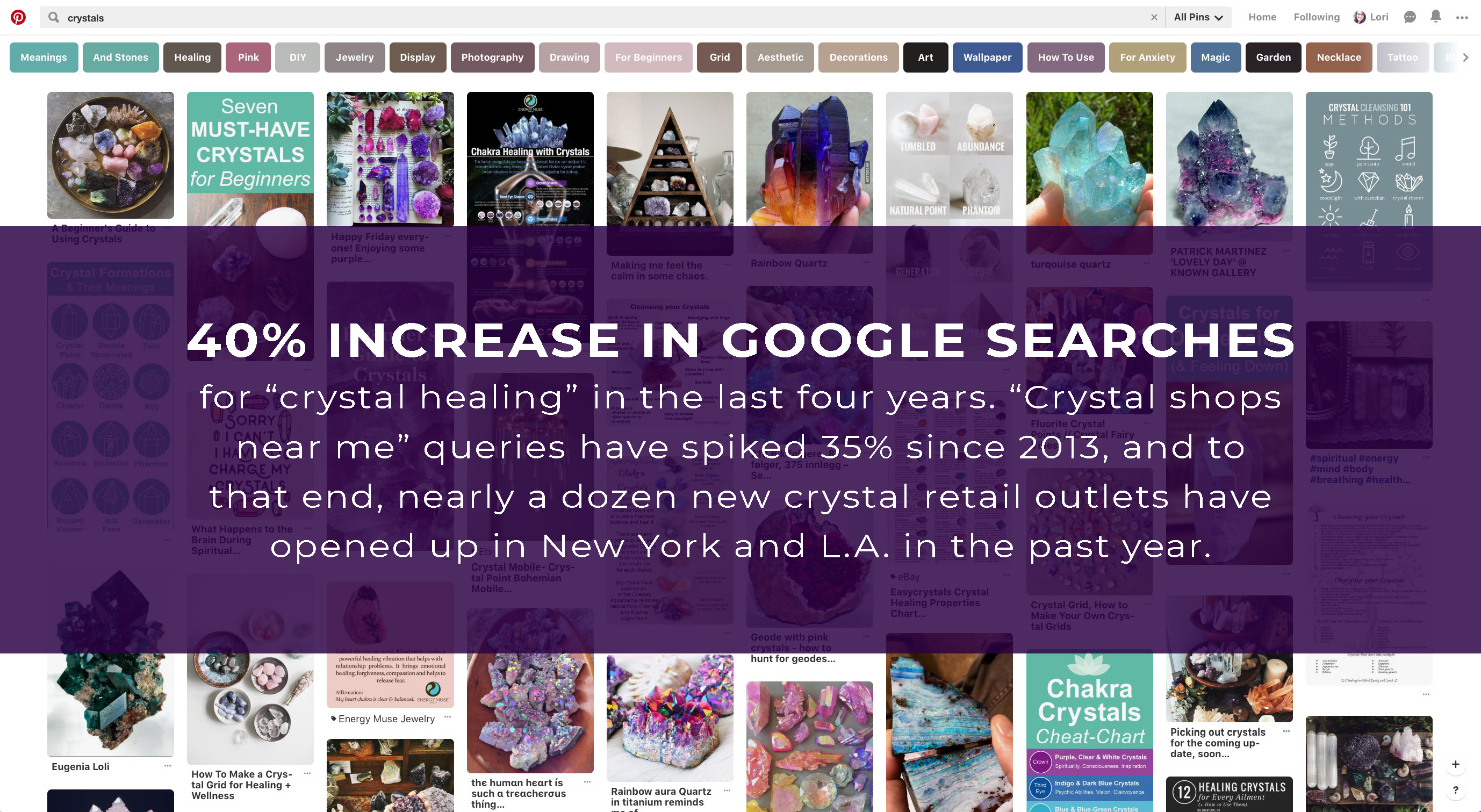 crystal sales Inso