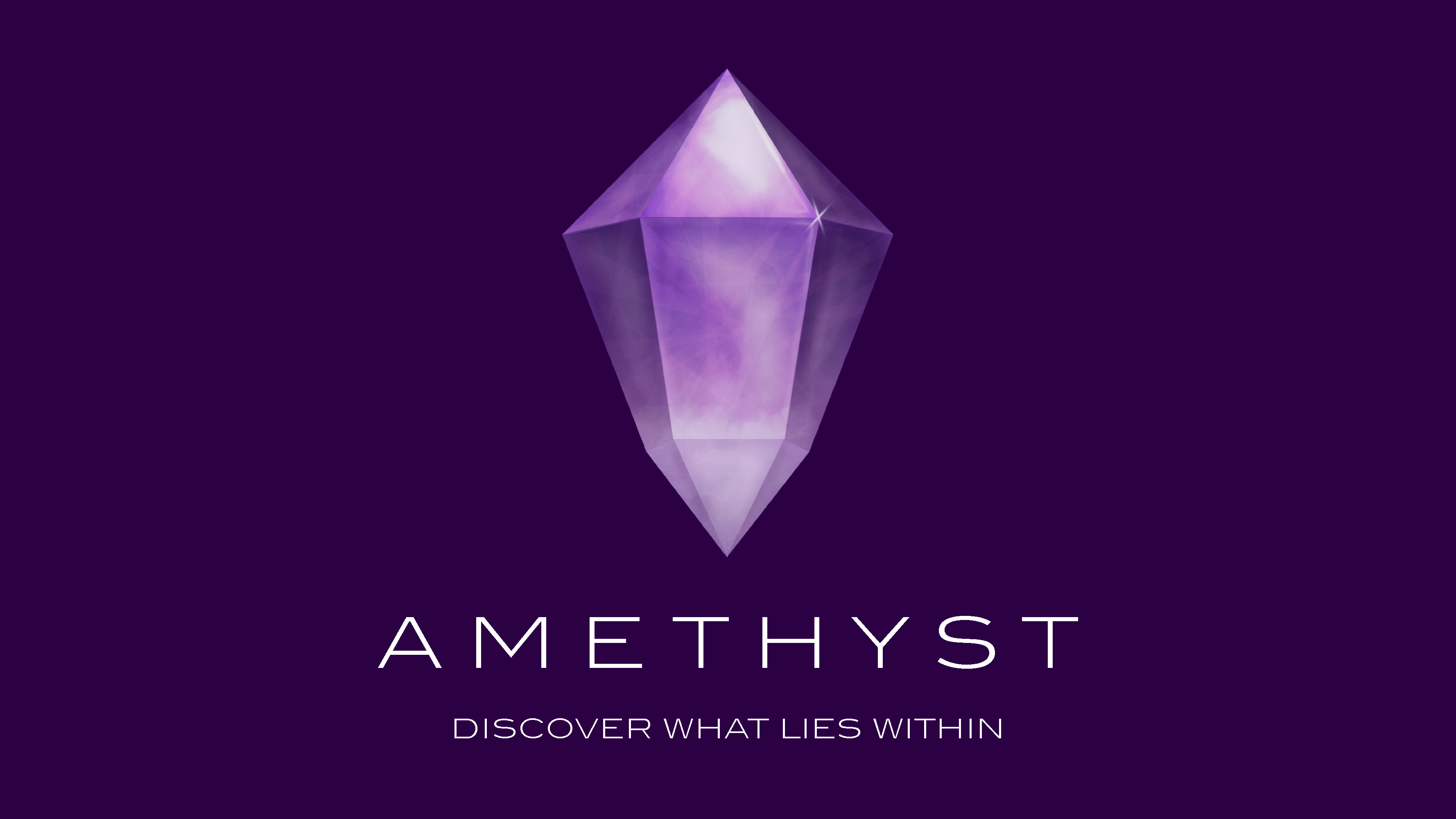 amethyst tall full purple