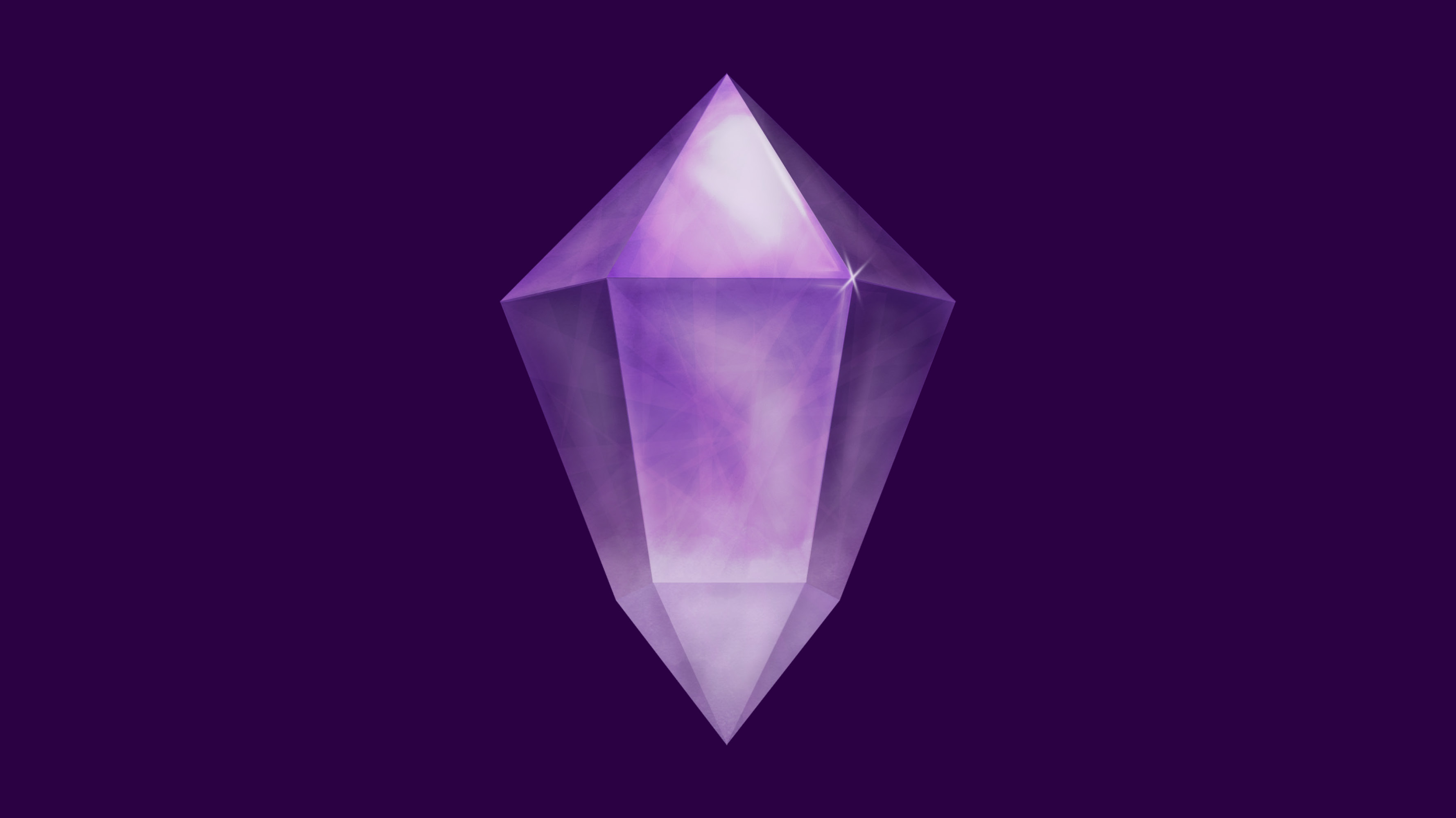 amethyst crystal purple