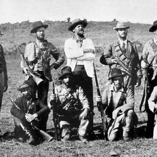 Officers of the Irish Transvaal Brigade