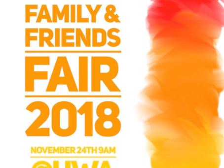 🎟 Event - 2018 Family & Friends Fair