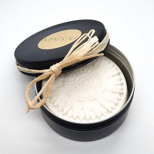 Geschenkdose mit Schleife  (Seife bitte separat bestellen!)