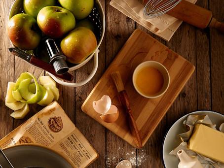 das neue Programm:                        vom Apfel zum Strudel