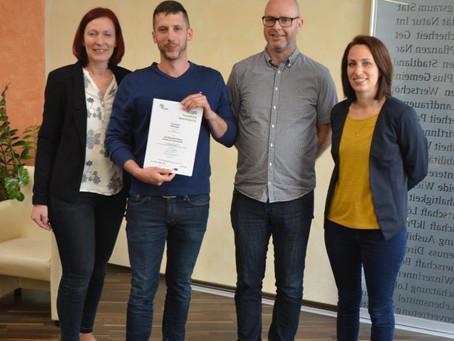 Zertifikatslehrgang mit ausgezeichnetem Erfolg bestanden!!
