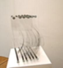 Maquette optique pour les Bras de la Venus de Milo Eléonore Bak © 2002