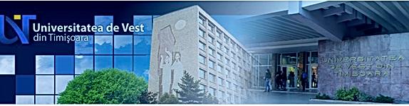 Universitatea de Vest din Timisoara 2018