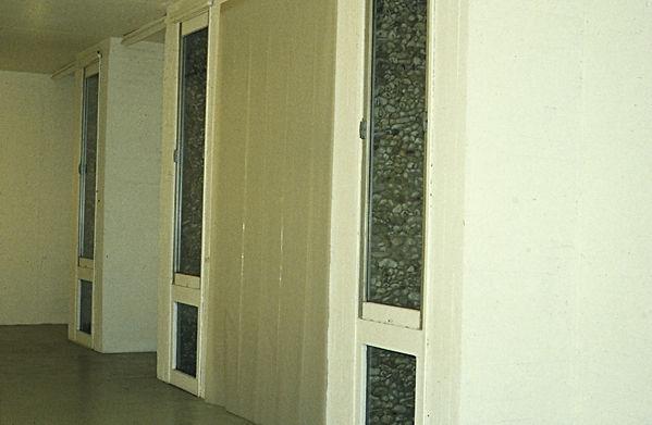 OT installation sonore in Nature / Contre Nature Villa Arson Nice 1996 Eléonore Bak © 1996