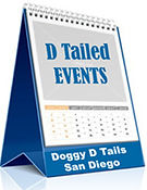 Doggy D Tails Event Calendar Icon