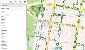 Greater Shepparton City Council uses Pozi to showcase their area's trees in a fun & engaging
