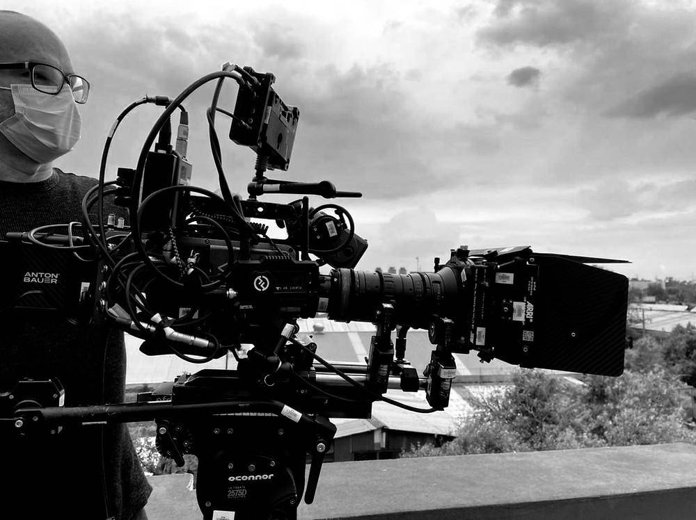 Cinematographer at Mexico City. Juan Carlos Lelo de Larrea