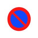 R-308 Estacionamiento prohibido.