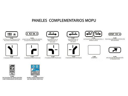 Paneles complementarios MOPU
