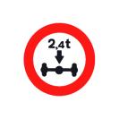 R-202 Limitación de masa por eje.